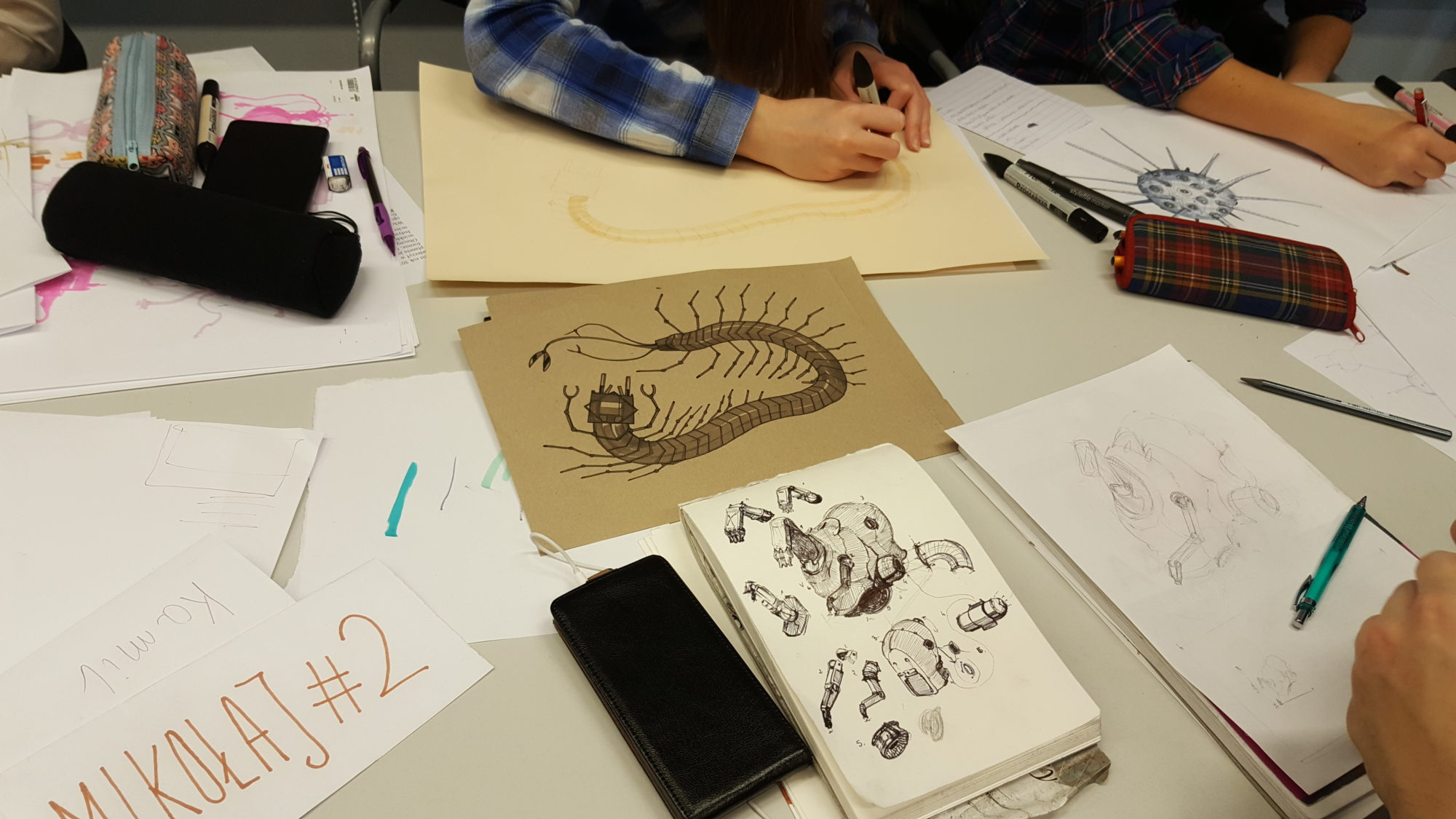 Drawing and Design Workshops (Techland)