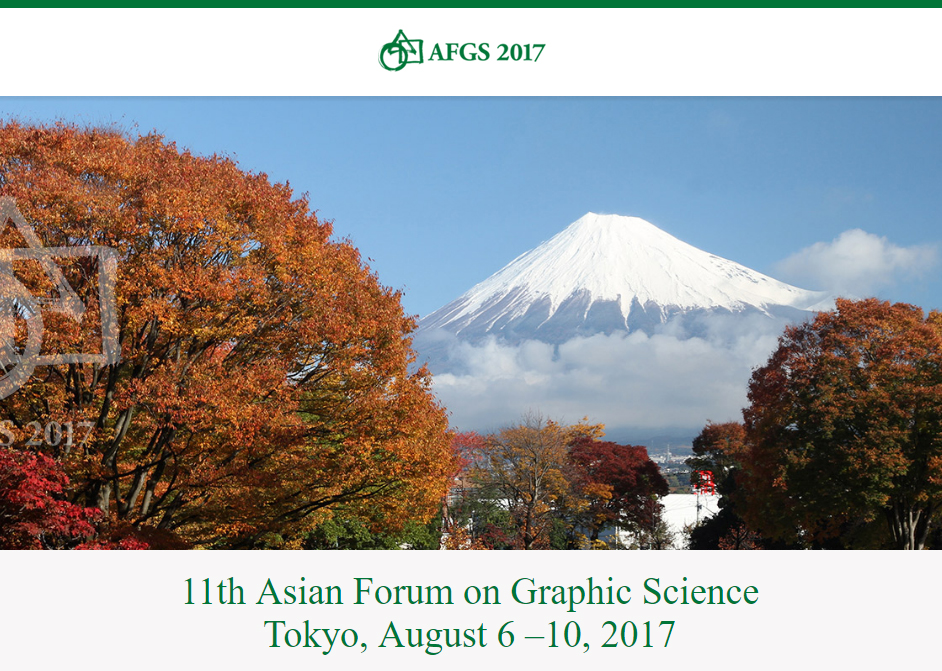11th Asian Forum on Graphic Science in Tokyo